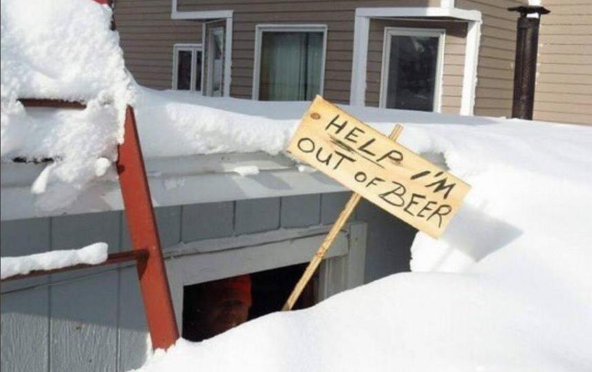 Восток Канады завалило снегом. Фото Скриншот Youtube