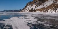 Туристы из России провалились под лёд на Байкале и сняли инцидент на видео