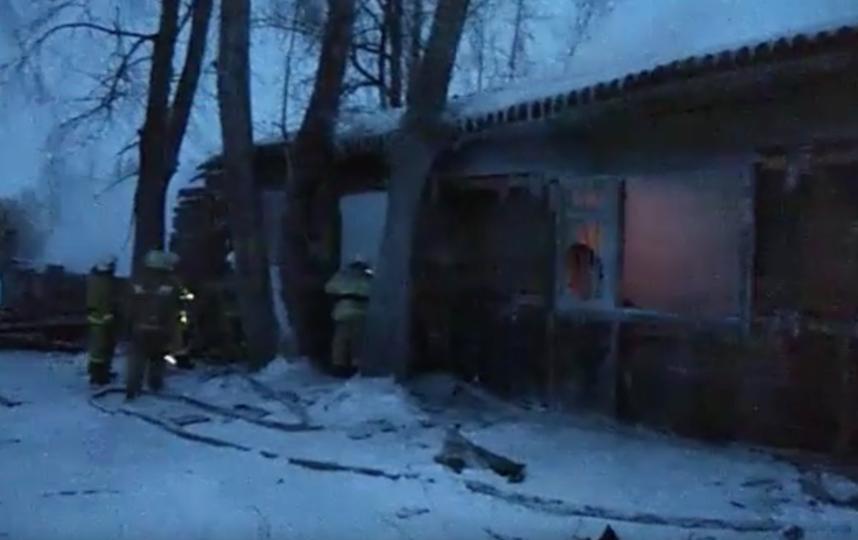 Жертвами пожара в Томской области стали 11 человек. Фото скриншот youtube.com/watch?v=_jztW5EB55I