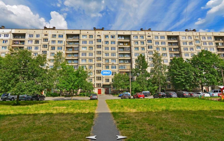 Проспект Обуховской обороны 292/2. Фото Яндекс.Панорамы