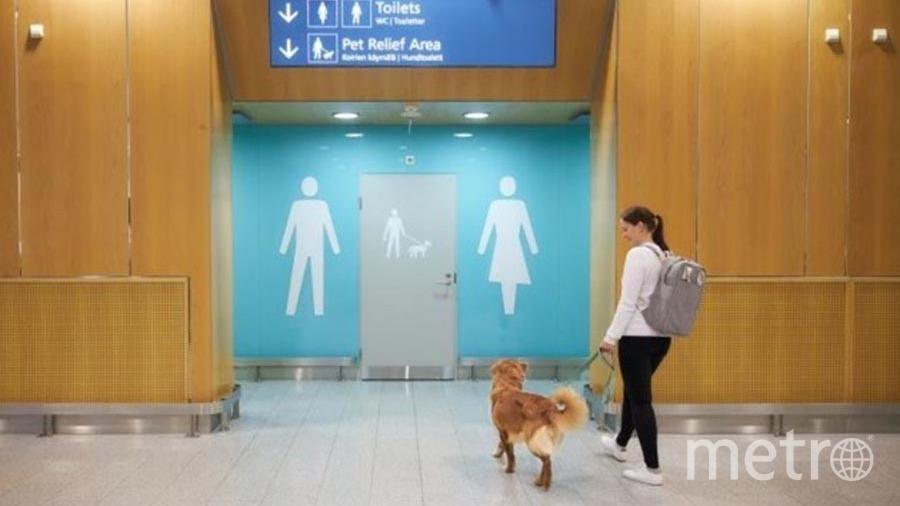 Так обозначены туалеты для собак в Вантаа-Хельсинки. Фото Getty