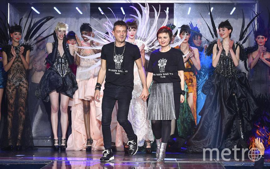 Дизайнеры Ливия Стоянова и Ясен Самуилов. Фото Getty