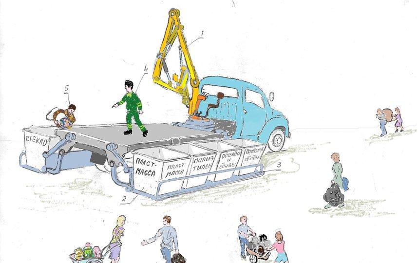 Грузовик для малых городов и посёлков. Фото Леонид Дербенёв