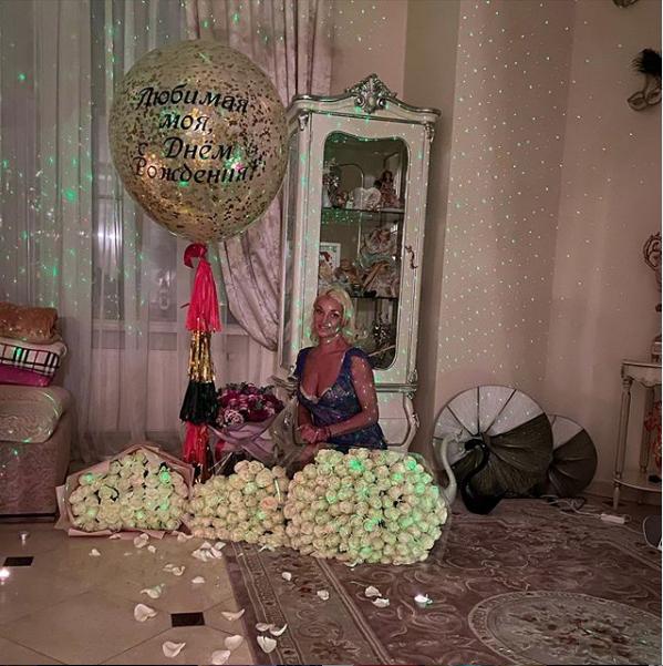 Анастасия Волочкова отметила 20 января день рождения. Фото скриншот instagram.com/volochkova_art/?hl=ru
