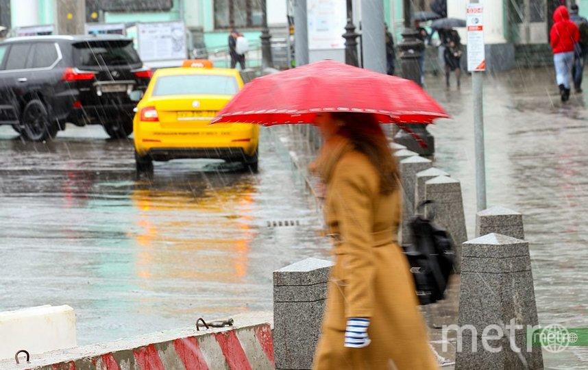 В Москве прогнозируется мокрый снег и гололедица. Фото Василий Кузьмичёнок