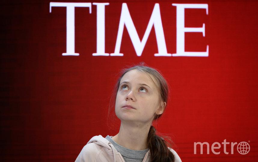 В 2019 году журнал TIME назвал Грету Тунберг человеком года. Фото AFP