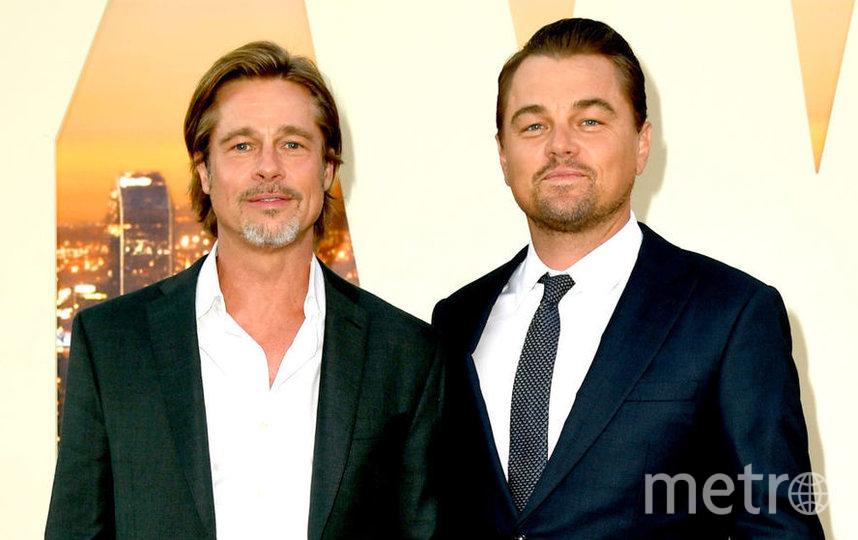Леонардо Ди Каприо и Брэд Питт. Фото Getty