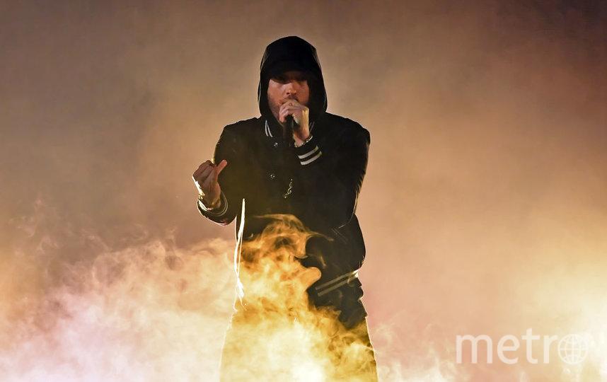 Американский рэп-исполнитель Eminem. Фото Getty