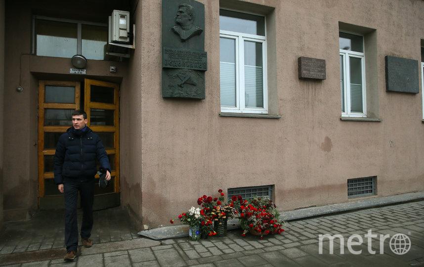 Тот самый второй подъезд, где живут актёры Геннадий Хазанов и Леонид Куравлёв. Фото Василий Кузьмичёнок