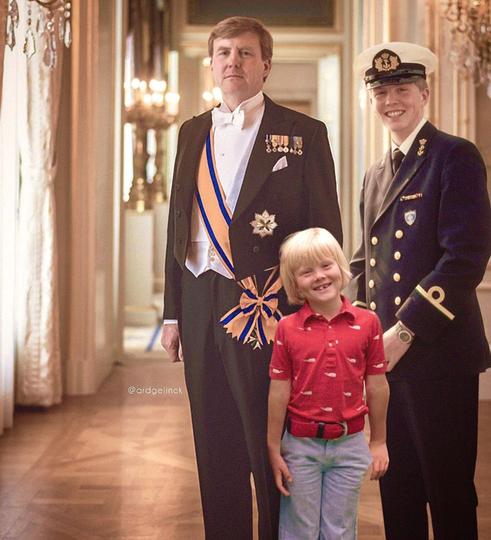 Король Нидерландов Виллем-Александр. Фото Instagram @ardgelinck