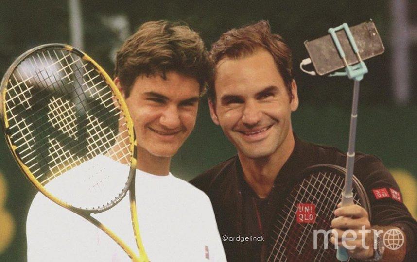 Роджер Федерер. Фото Instagram @ardgelinck