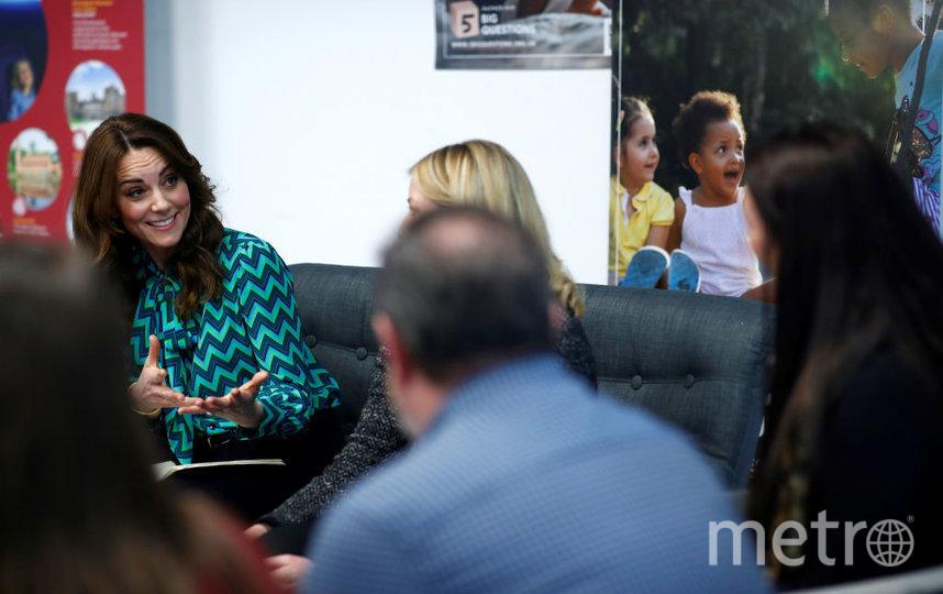 Кейт Миддлтон в Бирмингеме запустила масштабный проект для семей с детьми младше 5 лет. Фото Getty