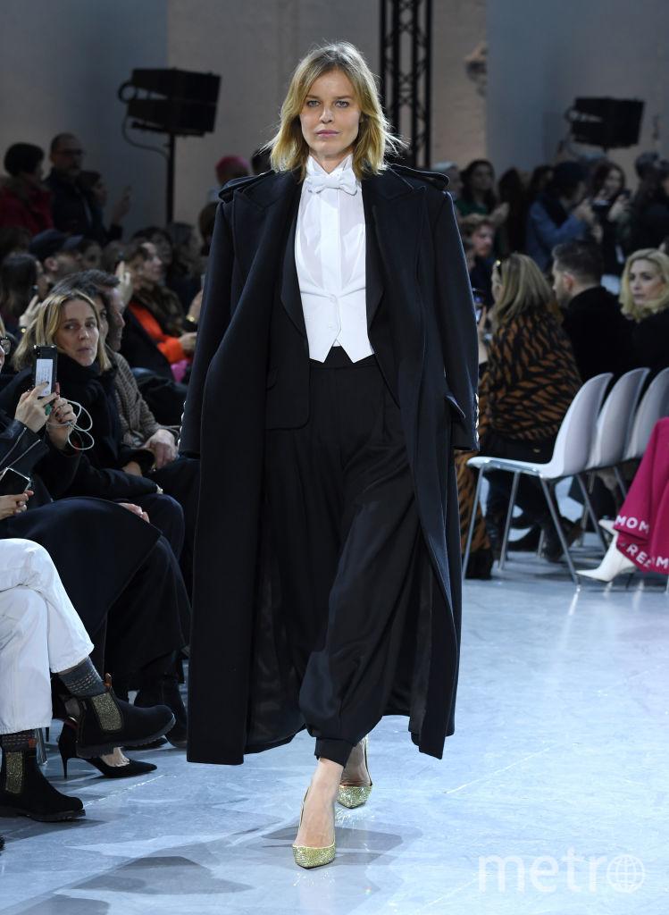 Показ Alexandre Vauthier на Неделе высокой моды в Париже. Ева Герцигова. Фото Getty