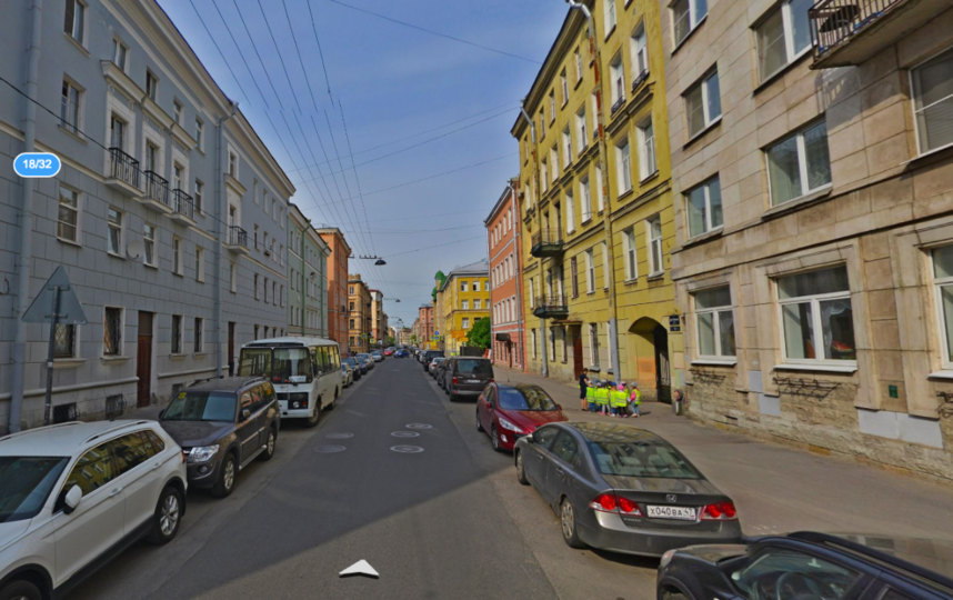Дегтярная улица. Фото Яндекс.Панорамы