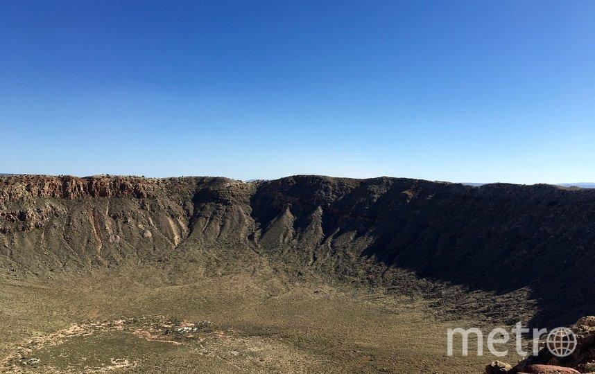 Так выглядит кратер в Аризоне, США. Архивное фото. Фото pixabay.com