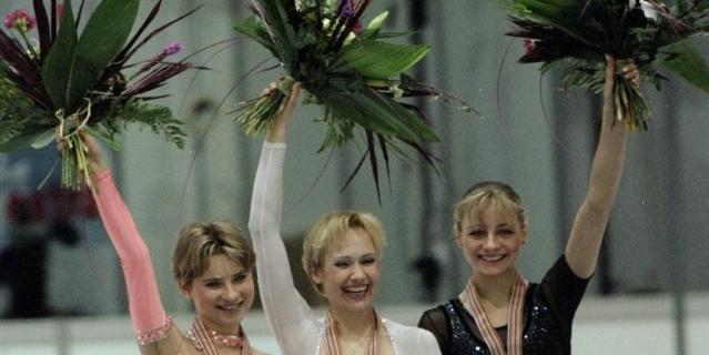 Призёры чемпионата Европы 1999 года.