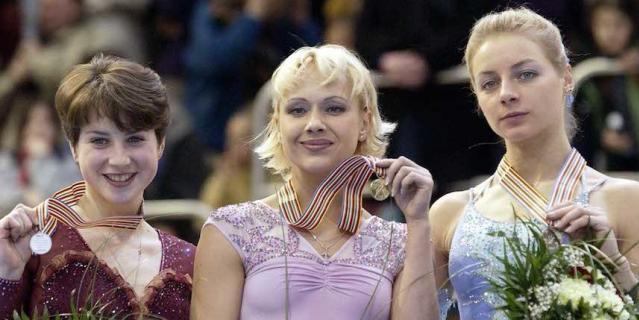 В 2002 году Мария Бутырская победила, Ирина Слуцкая была второй, а третьей стала Виктория Волчкова.
