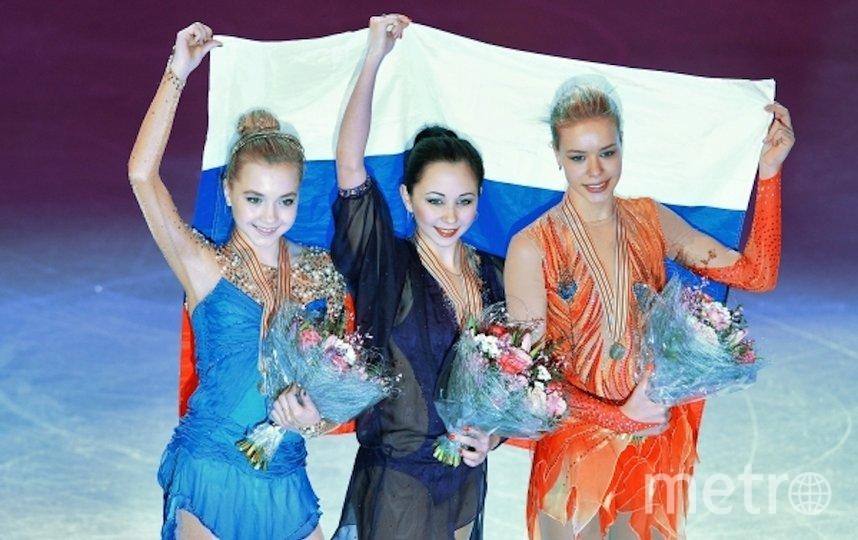 В 2015 году лучшей была Елизавета Туктамышева. Серебро и бронзу взяли Елена Радионова и Анна Погорилая. Фото РИА Новости