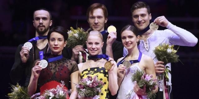Тарасова и Морозов стали двукратными чемпионами Европы, Столбова и Климов остались вторыми, а третьим стал дуэт Натальи Забияко и Александра Энберта.