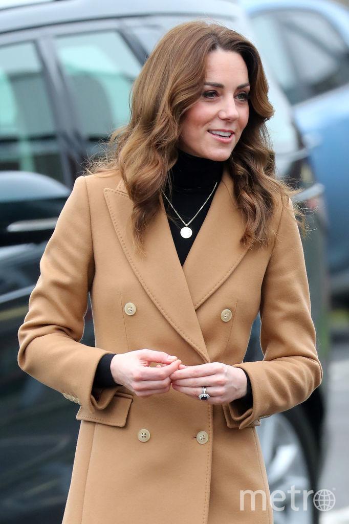 Кейт Миддлтон в Уэльсе 22 января. Фото Getty