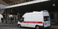 Прилетевшего в Пулково увезли в больницу с подозрением на коронавирус