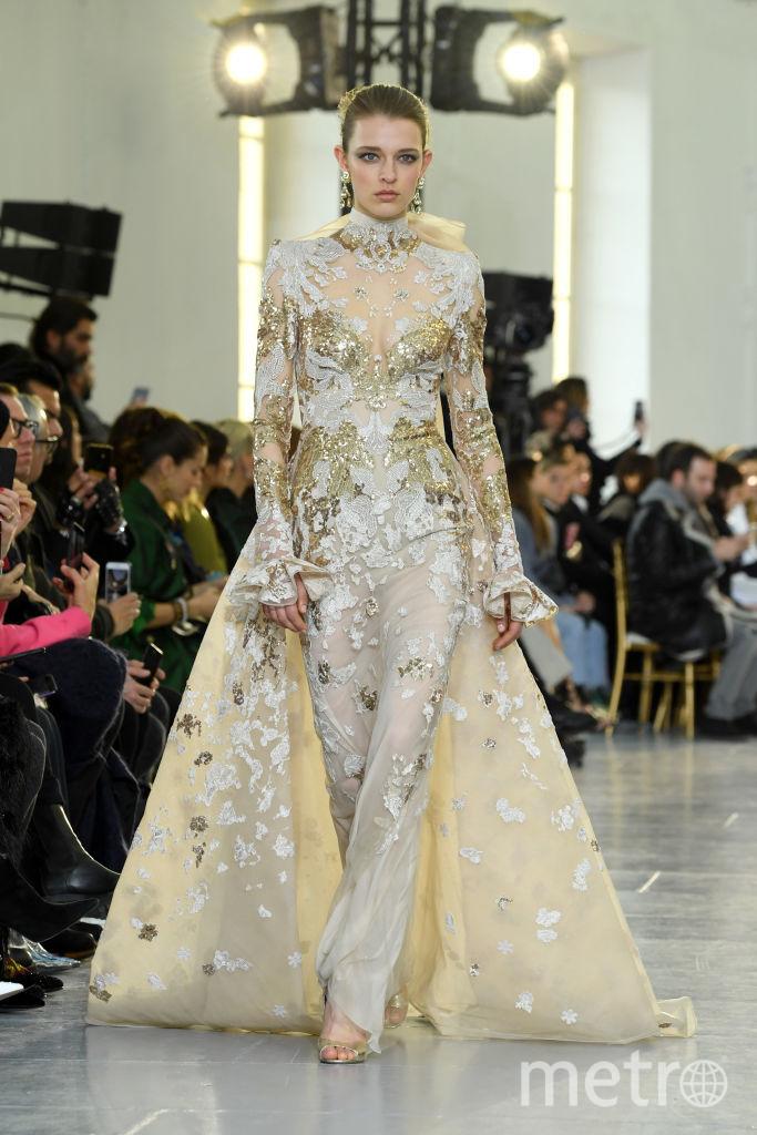 Показ Elie Saab на Неделе высокой моды в Париже. Фото Getty