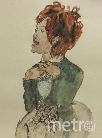 Рисунки, представленные на выставке. Наталья Фиссон. Фото Предоставлено организаторами