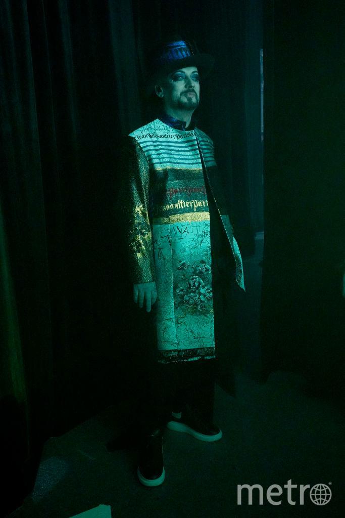 Шоу Готье в Париже. Бой Джордж. Фото Getty