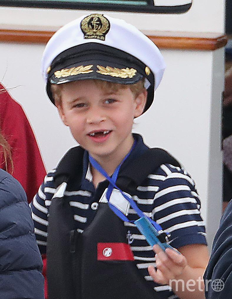 """Главным героем мультсериала """"Принц"""" станет 6-летний сын Кейт Миддлтон и принца Уильяма принц Джордж. Фото Getty"""