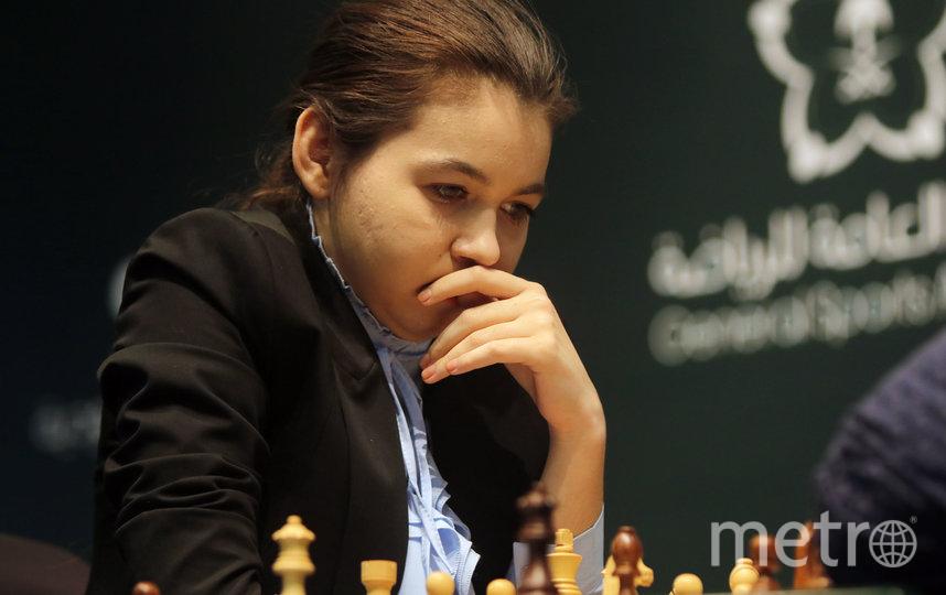 Александра Горячкина. Фото Getty