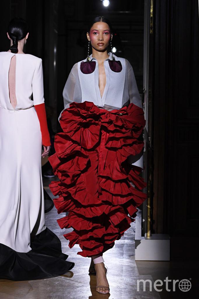 Показ весенне-летней коллекции Valentino. Фото Getty