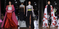 Элегантность и грация: Ирина Шейк и Кайя Гербер украсили подиум показа Valentino