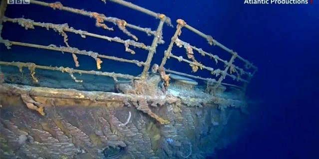 Кадры затонувшего Титаника сейчас.