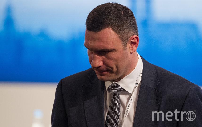 Виталий Кличко. Фото Getty