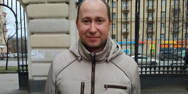 Сергей, менеджер, 41 год.