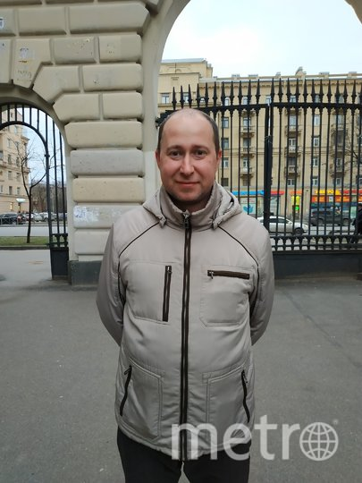 "Сергей, менеджер, 41 год. Фото ""Metro"""