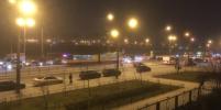 В Петербурге на Дыбенко с рельс сошел трамвай
