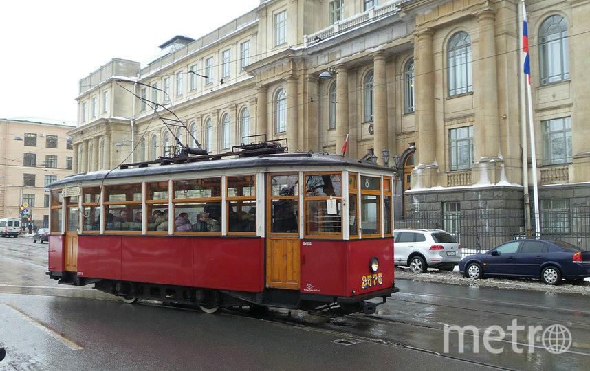 """Акция """"Блокадный трамвай"""", архивное фото. Фото """"Metro"""""""