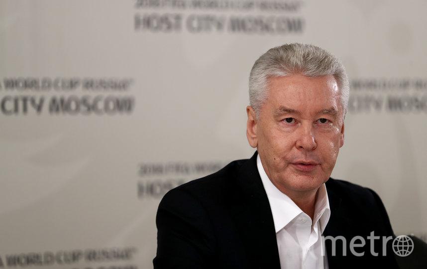 Мэр Москвы Сергей Собянин (архивное фото). Фото Getty