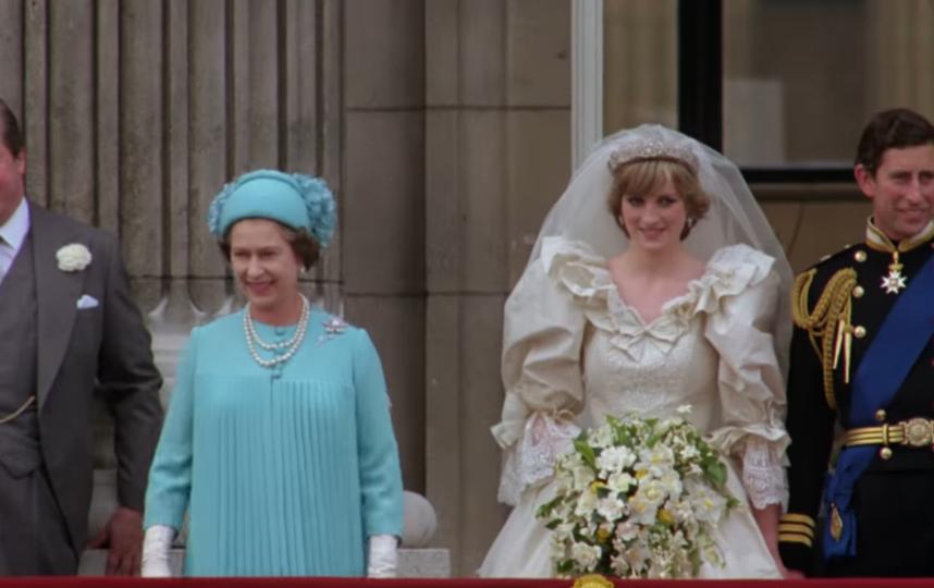 Свадьба принцессы Дианы и принца Чарльза. Фото Скриншот Youtube