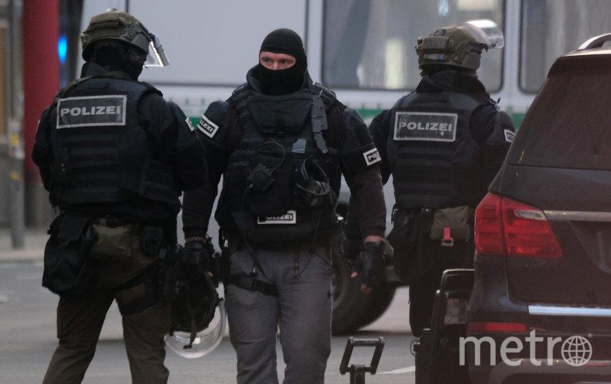 Полиция в Германии обезвредила преступника. Фото Getty