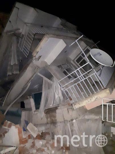 Землетрясение магнитудой 6,8 произошло вечером в пятницу. Фото AFP