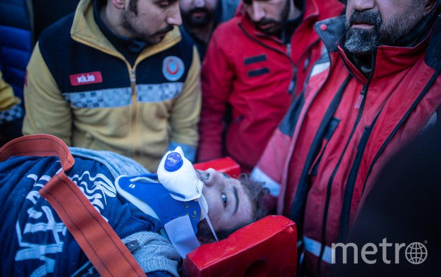 Число погибших в результате землетрясения в Турции выросло до 35. Фото Getty