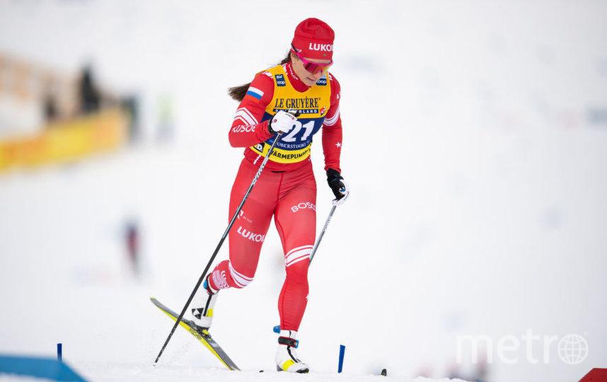 Наталья Непряева выиграла спринт на этапе Кубка мира по лыжным гонкам. Фото Getty