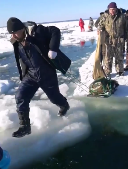 При эвакуации никто не пострадал. Фото instagram.com /fishing_island_sakhalin