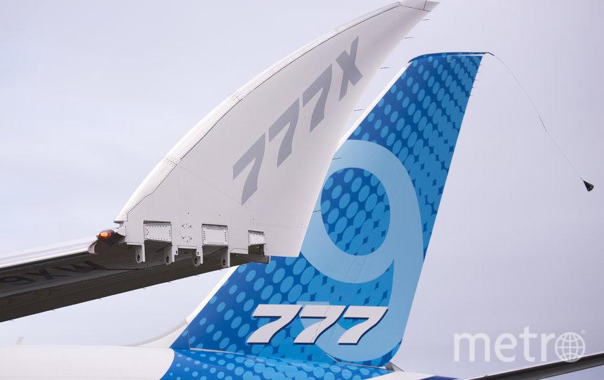 Новый самолёт Boeing 777X совершил первый испытательный полёт. Фото AFP