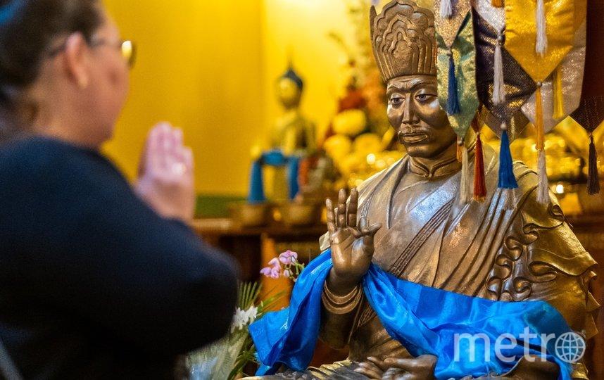 """Для российских буддистов Новый год начнётся только через месяц. Фото Алена Бобрович, """"Metro"""""""