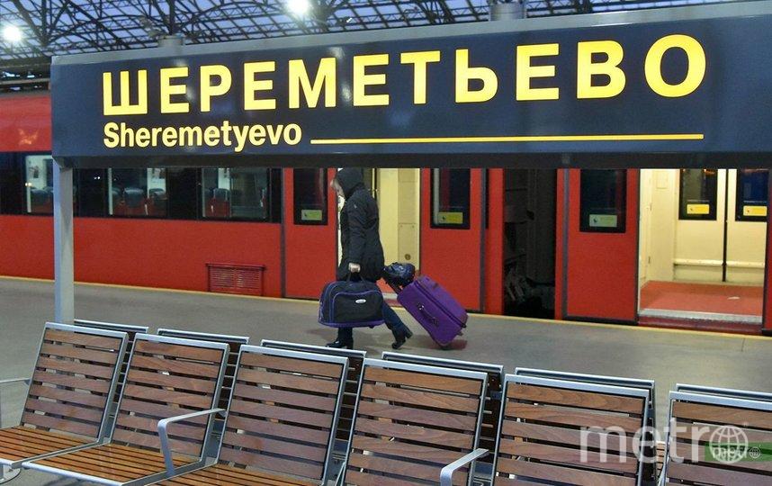 """В столичном аэропорту """"Шереметьево"""" мужчина оставил двух малолетних детей. Фото Василий Кузьмичёнок"""