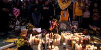 Тысячи жителей Лос-Анджелеса почтили память погибшего в авиакатастрофе Коби Брайанта