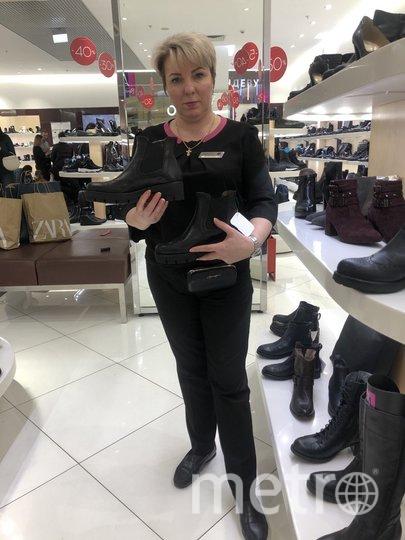 """Такая демисезонная обувь популярна сейчас у москвичек. Фото Мария Беленькая, """"Metro"""""""
